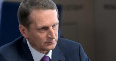 Нарышкин прокомментировал сообщения о подготовке терактов на уличных акциях в РФ
